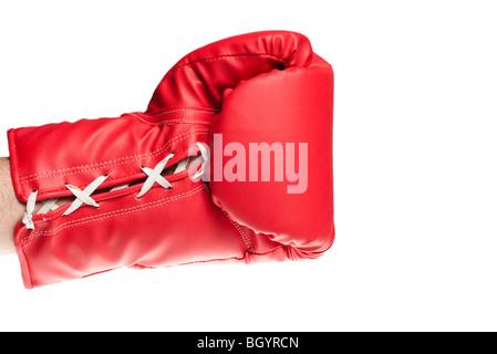 gant de boxe Banque D'Images