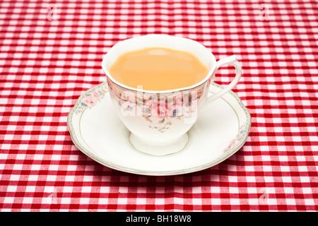Tasse de thé Banque D'Images