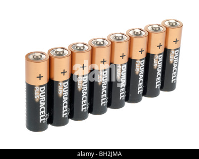 Batteries Banque D'Images