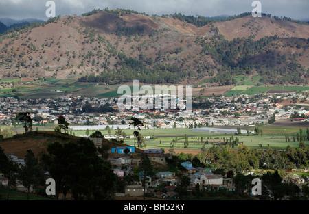 Région agricole, Constanza, République Dominicaine