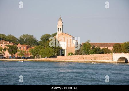 San Nicolò, Lido di Venezia, l'unesco, Veneto, Italie Banque D'Images