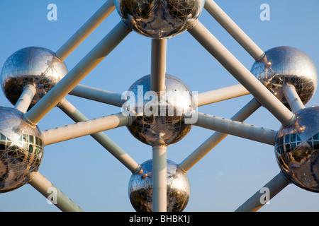 'L'Atomium' Bruxelles Belgique Banque D'Images