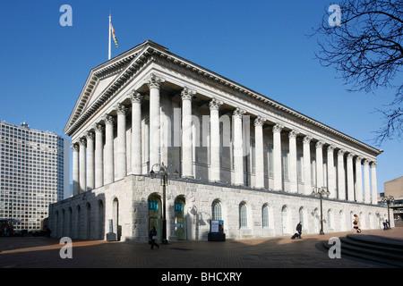Hôtel de ville de Birmingham, Birmingham, West Midlands. Banque D'Images