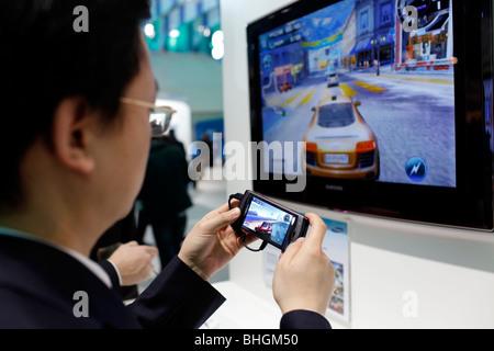 Le Mobile World Congress 2010 réunit les derniers développements dans l'industrie sans fil.