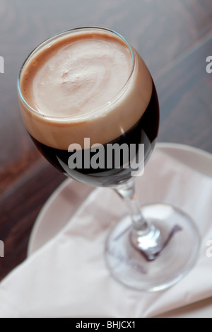 Irish coffee Banque D'Images