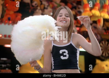 Sucre candi sur fête foraine - serieCVS100008001 Banque D'Images