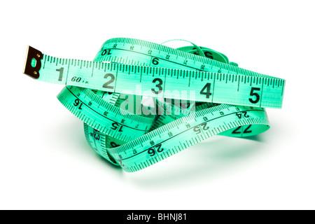 Ruban à mesurer Banque D'Images