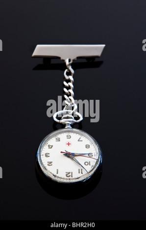 Nurse's watch fob Banque D'Images