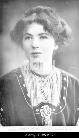 Sylvain Harriette Pankhurst, c1909. Artiste: Inconnu Banque D'Images