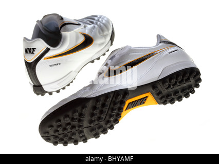 ... Chaussures de sport Nike chaussures de football coupe Banque D Images 5c24cddb0
