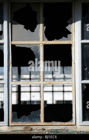 Stock photo d'une ancienne usine désaffectée. La photo a été prise à Limoges France. Banque D'Images
