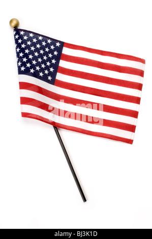 Petit drapeau américain Banque D'Images