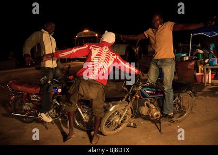 Afrique Angola Benguela Lubango Bike Quilengues Banque D'Images