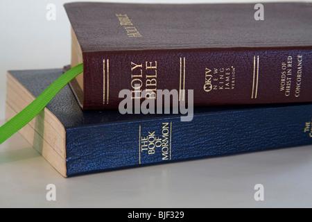 La Sainte Bible, Version King James, et le Livre de Mormon