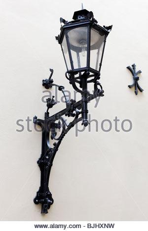 Lampe à huile décorative, Banque D'Images