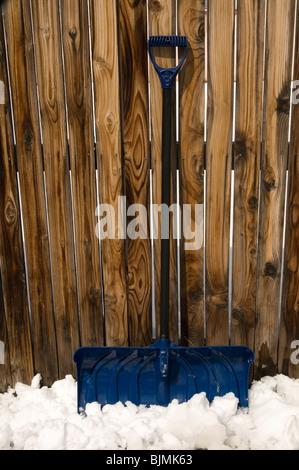 pelle à neige Banque D'Images
