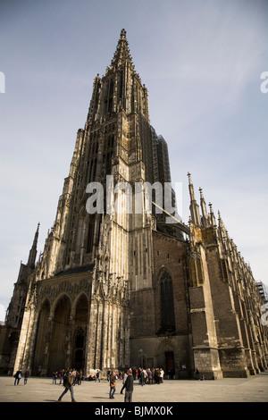 Ulm, Munster en Allemagne, subit des rénovations.