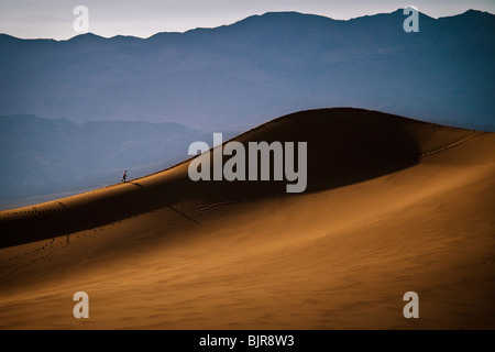 Dunes de sable de Stovepipe Wells dans Death Valley National Park, California, USA. Banque D'Images