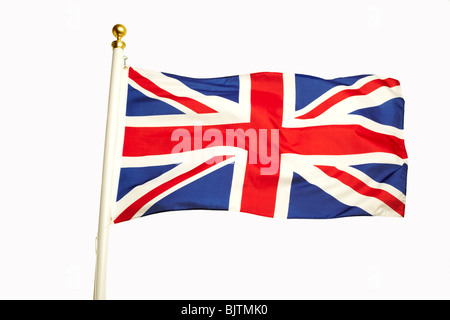 L'Union Jack Flag Banque D'Images