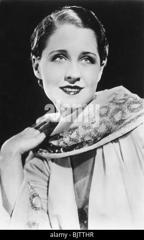 Norma Shearer (1902-1983), actrice américaine d'origine canadienne, 20e siècle. Artiste: Inconnu Banque D'Images