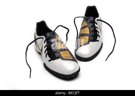 Formateurs Sales · Chaussures de sport Nike chaussures de football coupe  Banque D Images f2713de9f