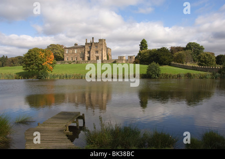 Ripley Castle, North Yorkshire, Angleterre, Royaume-Uni, Europe Banque D'Images