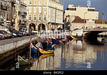 Aveiro, Portugal (La Venise du Portugal) Banque D'Images