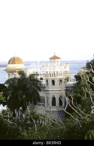 Palacio de Valle (construit en 1917) à Punta Gorda, Cienfuegos, Cuba Banque D'Images