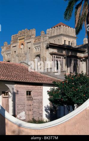 De l'architecture éclectique de styles à Cienfuegos, Cuba Banque D'Images