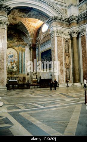 Maria degli Angeli e dei Martiri est une église de Rome l'Italie, il a été conçu par Michelangelo et il a été construit Banque D'Images