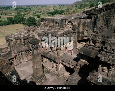 Le Temple Kailasanatha, datant du 8e siècle, à Amritsar, UNESCO World Heritage Site, Maharashtra, Inde, Asie