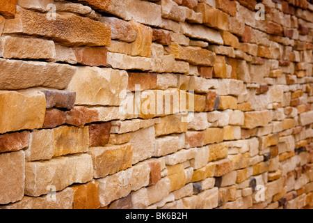 Artisanat ancien wall background, parfait pour l'écran, des thèmes de l'architecture ou de la construction Banque D'Images