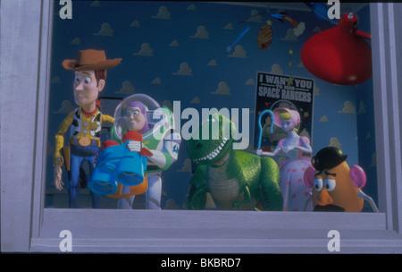 TOY STORY (1995) DESSIN ANIMÉ Woody, Buzz Lightyear, REX, BO-PEEP, MR POTATO HEAD TYSY 109 DISNEY CRÉDIT