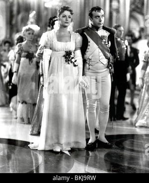 La CONQUÊTE (1937) MARIE WALEWSKA (ALT) GRETA GARBO, CHARLES BOYER CQST 010 P Banque D'Images