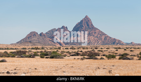 Le Groot Spitzkoppe, Montagne Usakos, Namibie Banque D'Images