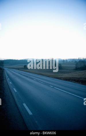 Lonely Road Banque D'Images