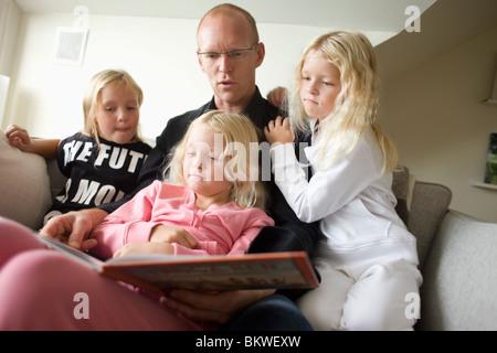 Père de trois filles