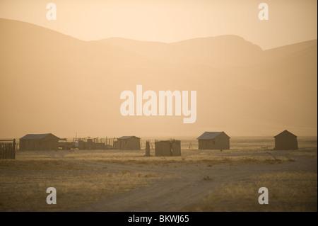 Purros vilage, Kaokoland, région de Kunene, en Namibie.