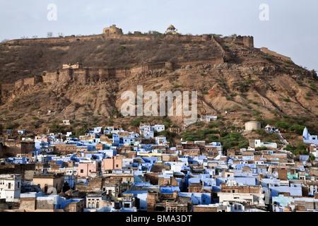 Bundi (Fort Taragarh). Le Rajasthan. L'Inde