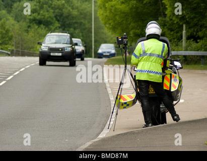 Vitesse Trap Police Banque D'Images