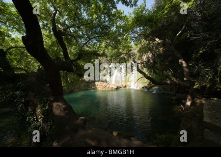 Turquie Antalya - les cascades de Kursunlu et parc forestier naturel Banque D'Images