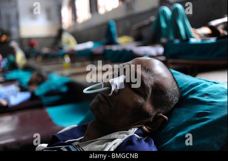 L'Inde Kolkata Calcutta, Nirmal Hriday - cœurs purs- house hospice pour les pauvres et les mourants au temple de Banque D'Images