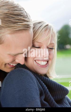 Grand sourire Banque D'Images