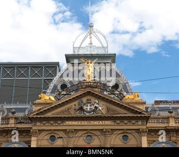 Le théâtre Princess à Melbourne Banque D'Images