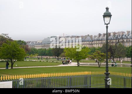 Paris, le jardin des Tuilleries