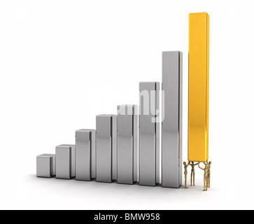 Concept de réussite Banque D'Images