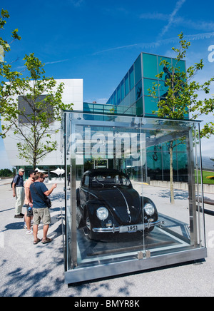 l 39 autostadt wolfsburg allemagne voiture ville de volkswagen ag twighlight banque d 39 images photo. Black Bedroom Furniture Sets. Home Design Ideas