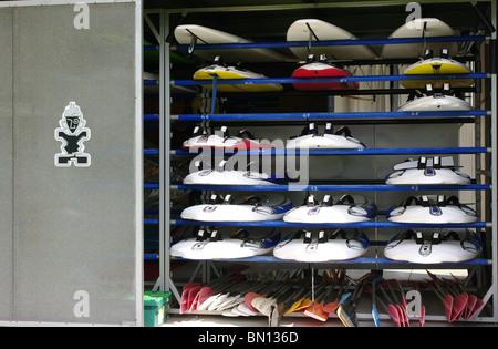 Tables de surf Banque D'Images