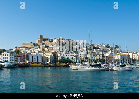 Ibiza ville, Ibiza, Baléares, Espagne Banque D'Images