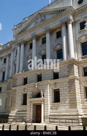 HM Treasury Building Whitehall London UK Banque D'Images